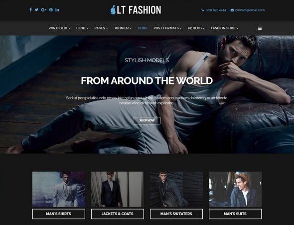 Шаблон LT Fashion от LTHEME